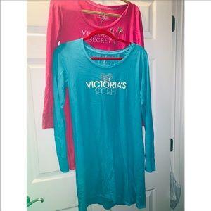 🙆🏻♀️❤️Set of 2 VS t-shirt pajama dress